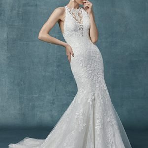 Liberty Wedding Dress Maggie Sottero | lace fit-and-flare wedding dress