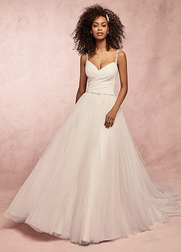 Lizzy Wedding Dress Rebecca Ingram | tulle a-line wedding dress