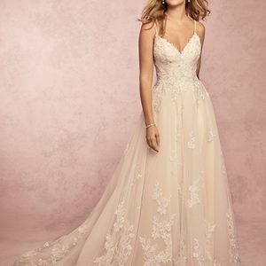 Miley Wedding Dress Rebecca Ingram | tulle a-line lace wedding dress