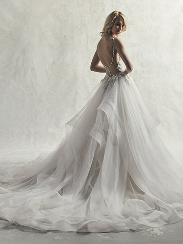 Davidson Wedding Dress Sottero and Midgley | tulle ballgown lace wedding dress
